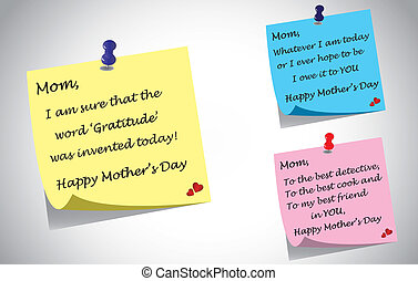 mothers day quotes post it notes