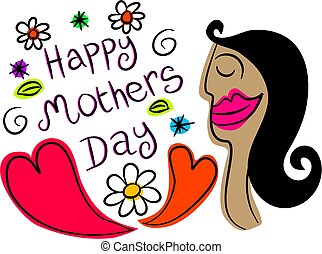 mothers day - happy mothers day design
