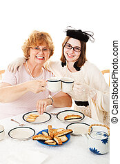 Mothers Day Tea Party with Mom