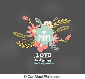 mothers day with love florals