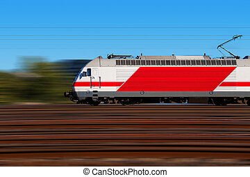 motie, trein, vasten, verdoezelen