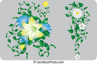motieven, bloem