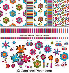 motieven, bloemen