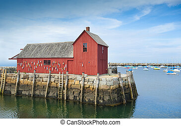 Motif #1, fisherman's shack - Motif #1, fisherman's shack in...