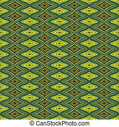motifs., fundo, étnico