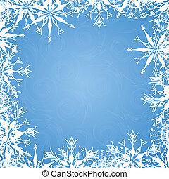 motifs, glacial, fond