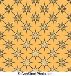 motifs, résumé, pattern., gris, seamless, arrière-plan., vector., orange
