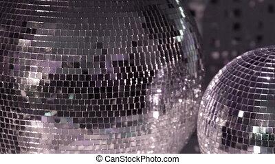 motifs, rotation, glitterball, froussard, lumière