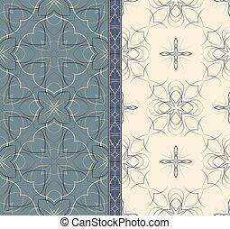 motifs, seamless, classique