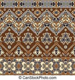 motifs, seamless, ethnique