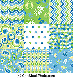 motifs, tissu, seamless, textu