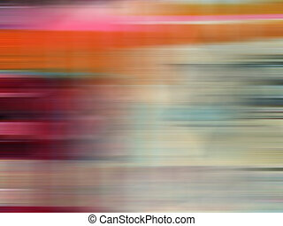 Motion - Abstract colorful image conveying movement.