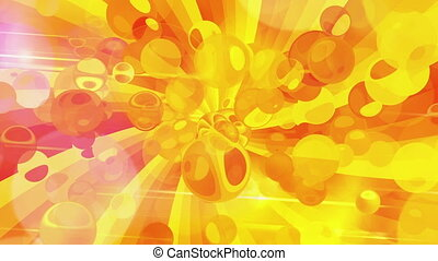 motion air bubbles of sun backgrounds