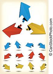 Motion Arrows Set