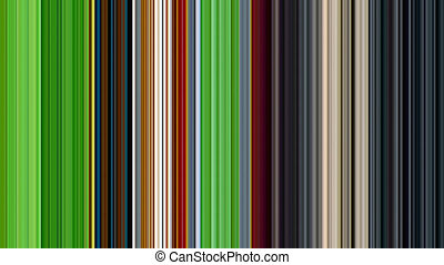 Motion background of vertical multi colored stripe