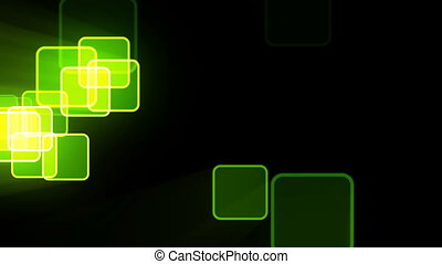 Motion background with animated squares
