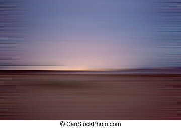 motion blur background - Night beach. Motion blur abstract...