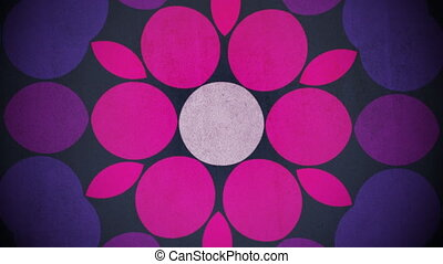 Motion colorful dots pattern, abstract background
