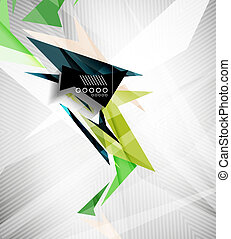 Motion geometric shapes - rapid straight lines for...