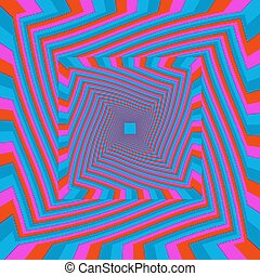 (motion, illusion), トンネル, twisted