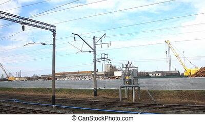 motion near railroad junction
