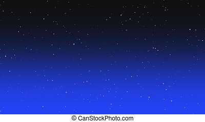 Motion particles in galaxy, abstract background