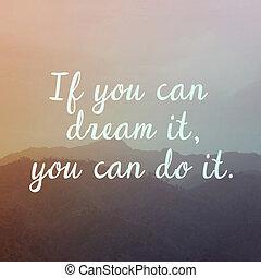motivación, natural, plano de fondo, cita, inspirador, ...