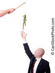 motivación, zanahoria