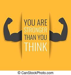 motivation, affiche, fitness