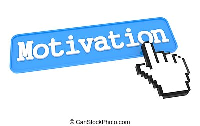 Motivation Button with Hand Cursor.