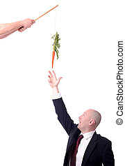 motivation carrot - motivation of dangling a carrot on a...