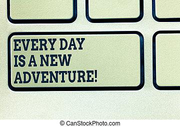 motivation, concept, clavier, texte, urgent, clavier, message, ton, intention, créer, écriture, adventure., début, nouveau, signification, chaque, clã©, jour, jours, idea., informatique, écriture, positivism