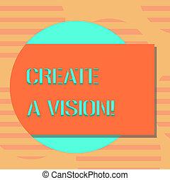 motivation, concept, couleur, texte, photo., mission, forme, vide, écriture, dehors, développer, créer, stratégie, cercle, réaliser, vision., business, but, venir, ombre, mot, rectangulaire