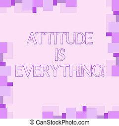 motivation, concept, texte, attitude, optimisme, écriture, signification, important, everything., écriture, succeed., inspiration