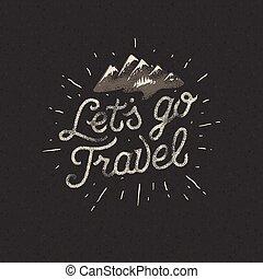 motivation, concept, voyage, lets, aventure, aller