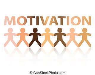 motivation, gens papier