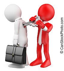 motivation, métaphore, gens., haut, enroulement, employee., ...