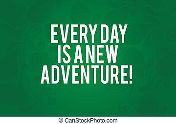 motivation, motif, photo, caractères, seamless, vide, palîr, note, forme., écriture, adventure., début, nouveau, paisley, business, projection, jours, ton, jours, rectangulaire, showcasing, positivism