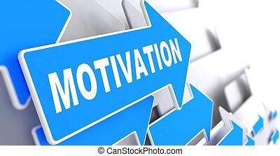 Motivation on Blue Arrow.
