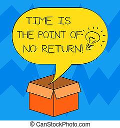 motivation, point, photo, sur, idée, signe, vide, ouvert, quel, non, parole, texte, conceptuel, vous, carton, bulle, box., projection, arrêt, halftone, pas, icône, intérieur, return., temps