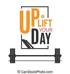 Motivation poster for training