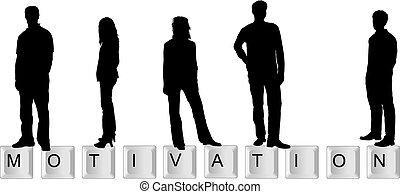 motivation, schlüssel, hintergrund