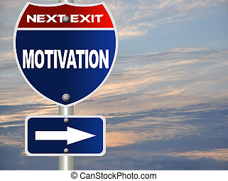 motivation, straße zeichen