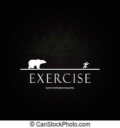 Motivation template - bear attack design