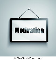 motivation text sign