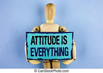 motivation, texte, signe, attitude, papier, jouet, note, arrière-plan., écrit, tenue, photo, conceptuel, projection, réussir, everything., collant, inspiration, joint, uni, optimisme, bois, important
