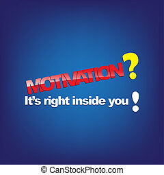 Motivational Background - Motivation? It's right inside you!...