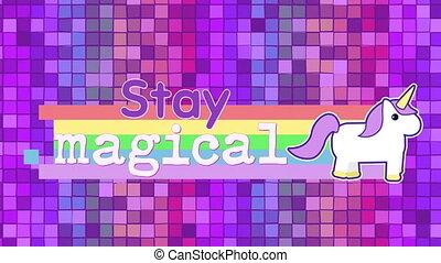Motivational phrase for kids - Digital animation of a ...