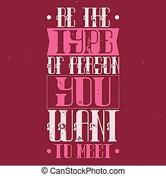 motivazionale, poster.