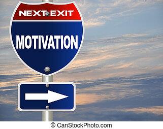 motivazione, segno strada